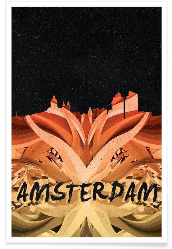Amsterdam, Amsterdam affiche