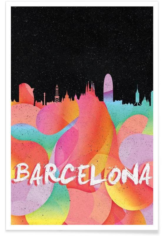 Barcelone, Barcelona affiche