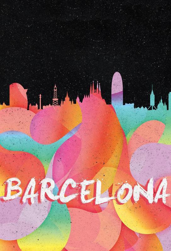 Barcelona acrylglas print