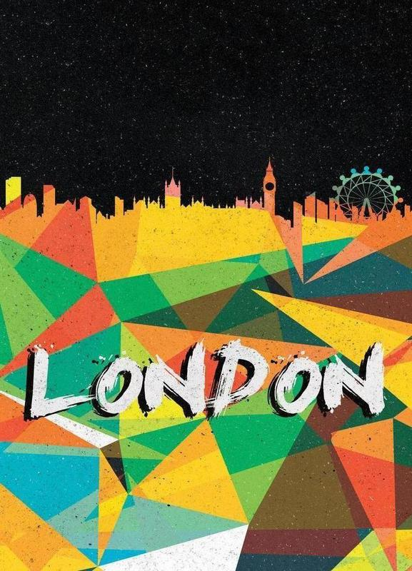 London canvas doek