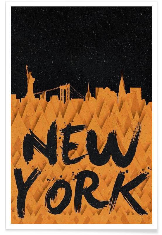 New York, New York affiche