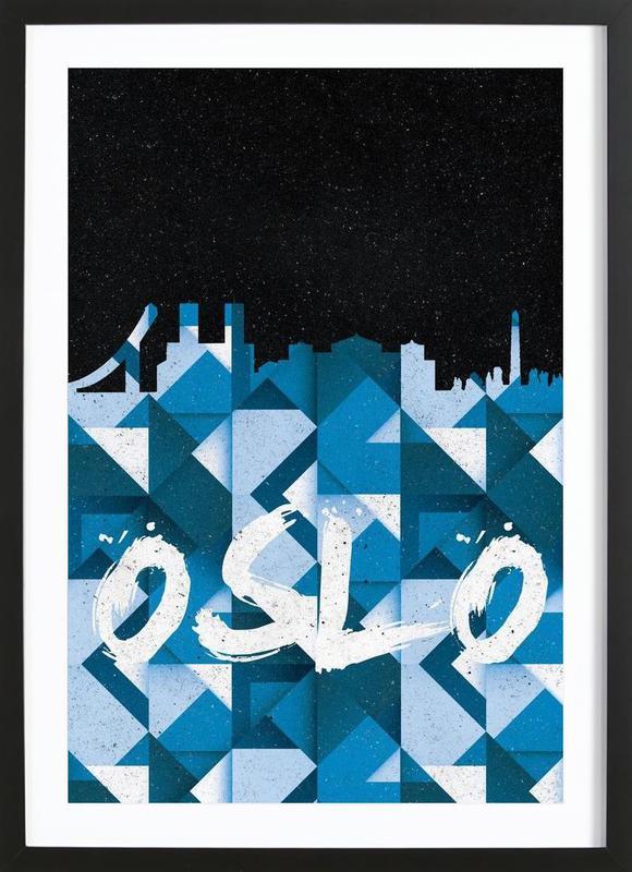 Oslo Framed Print