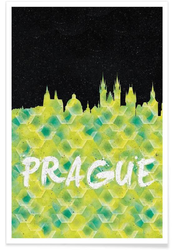, Prague affiche