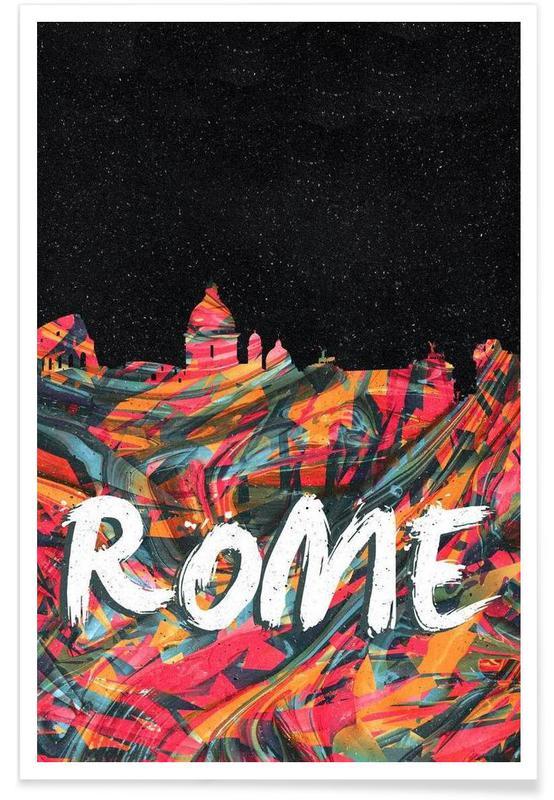 Rome, Rome affiche
