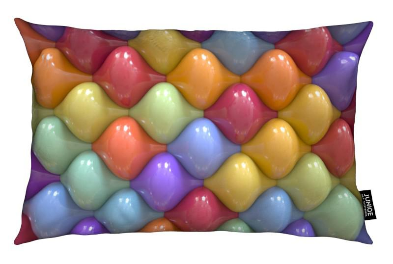 Oval coussin