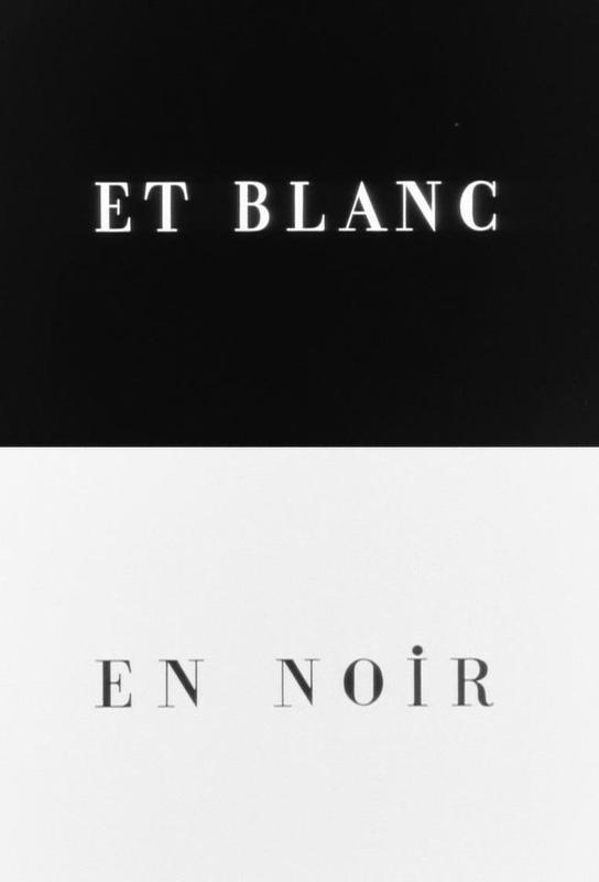 Et blanc en noir Aluminium Print