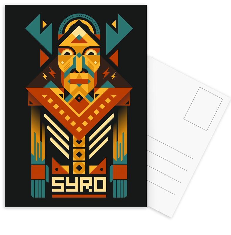 , Syro Postcard Set