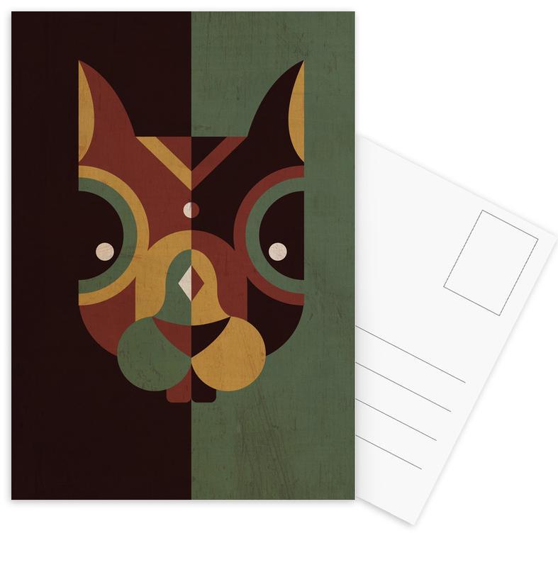 Kunst voor kinderen, Squirrel ansichtkaartenset
