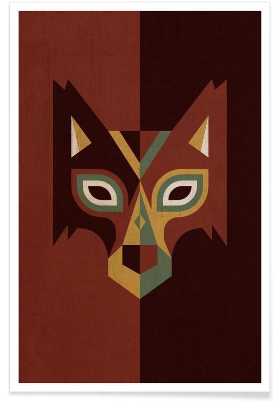 Wolves, Wolf Poster