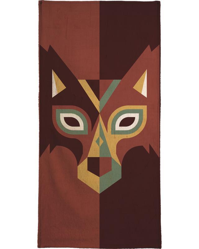 Wölfe, Wolf -Handtuch
