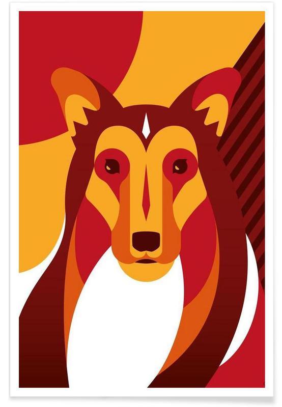 Chiens, Dog #01 affiche