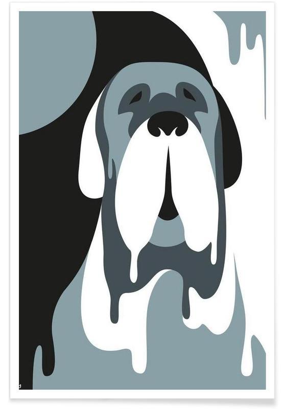 Chiens, Dog #02 affiche
