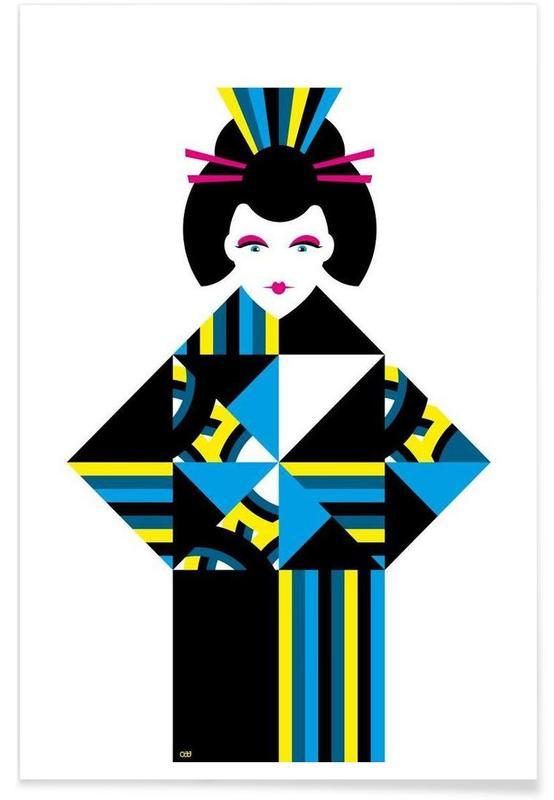 , Geisha Poster