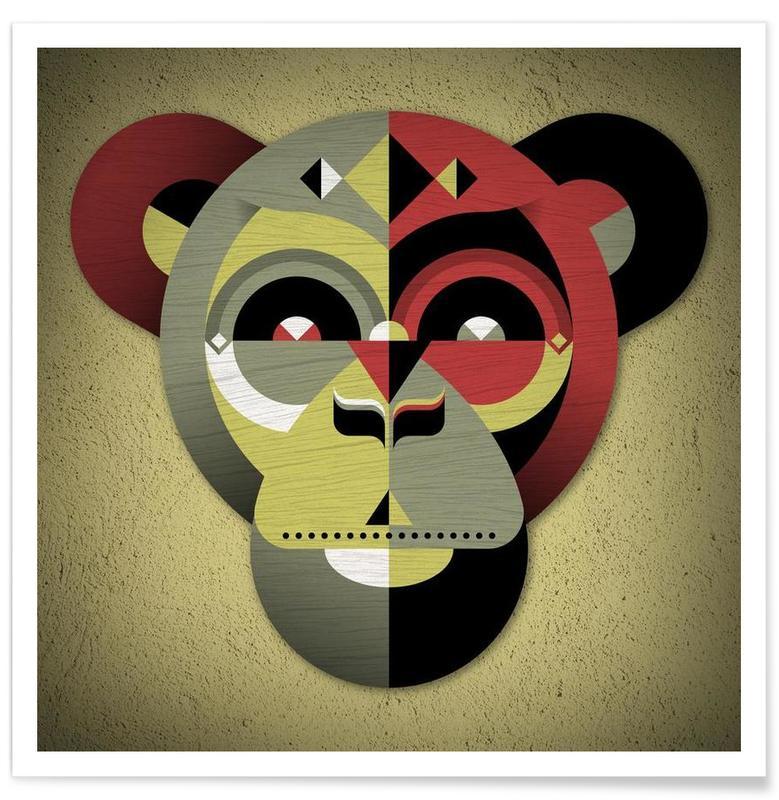 Singes, Monkey affiche