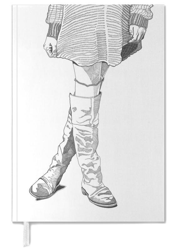 Illustrations de mode, Leather Boots agenda