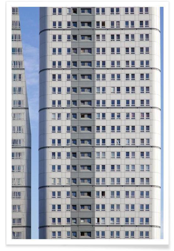 Détails architecturaux, Gratte-ciels, Sky High affiche