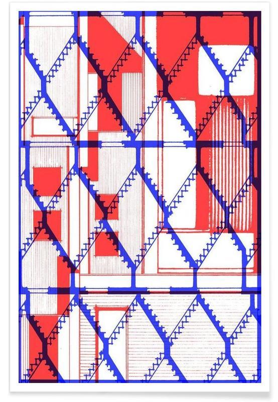 Architectonische details, One poster