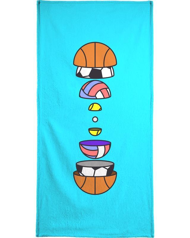 Big Balls -Handtuch
