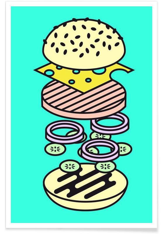 Burgers, Burger affiche