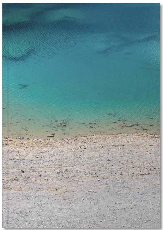 Strände, Ozeane, Meere & Seen, Glasklar Notebook