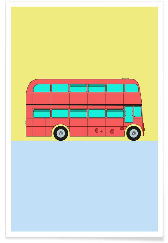 London Bus Tour affiche