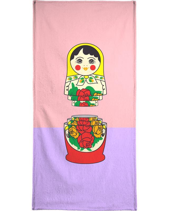 Matrioshka -Handtuch