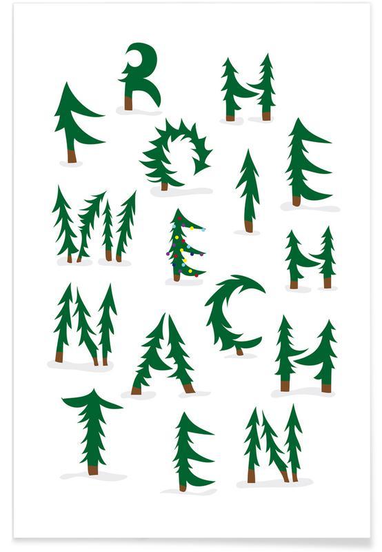 Weihnachten affiche