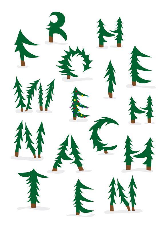 Weihnachten -Leinwandbild
