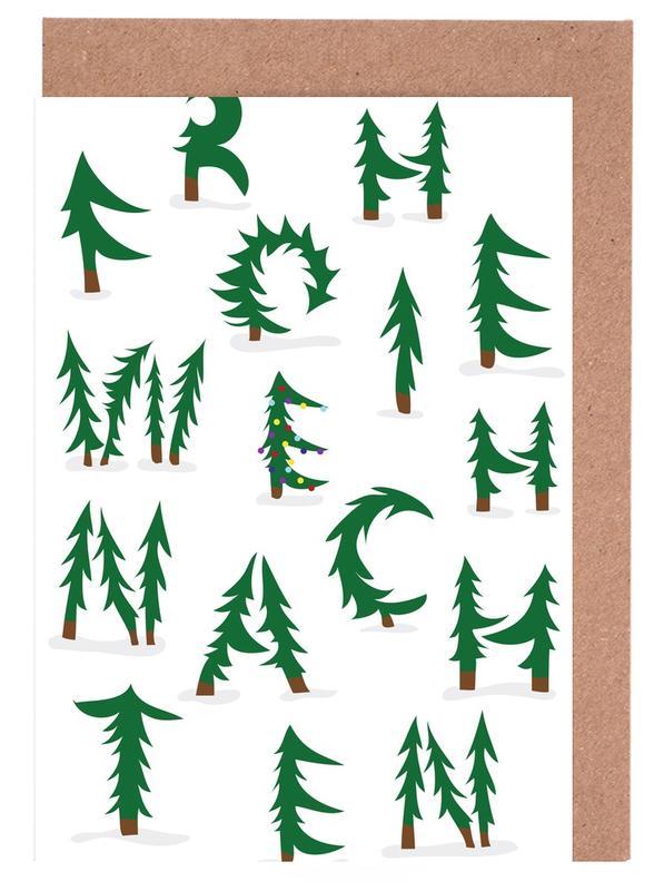 Weihnachten, Weihnachten -Grußkarten-Set