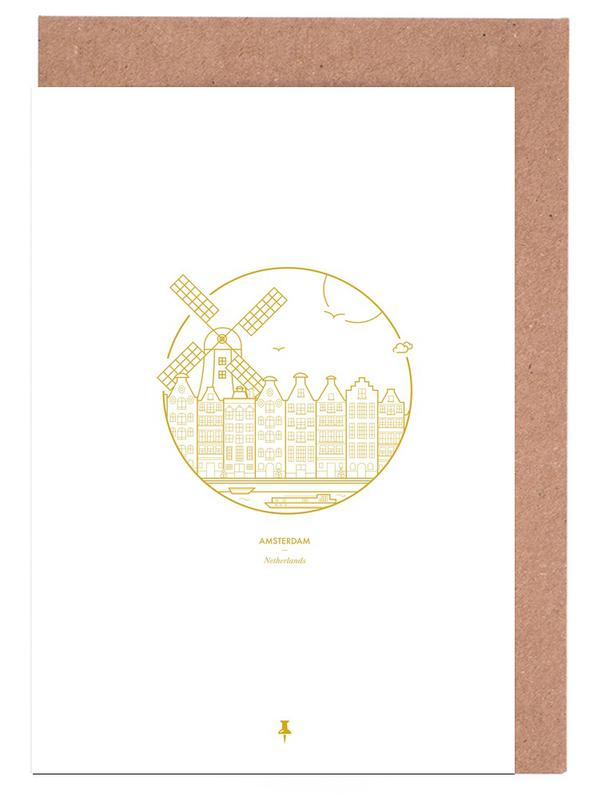 Amsterdam Greeting Card Set