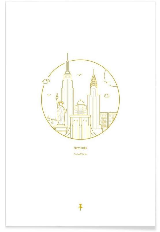 New York Minimalist Poster