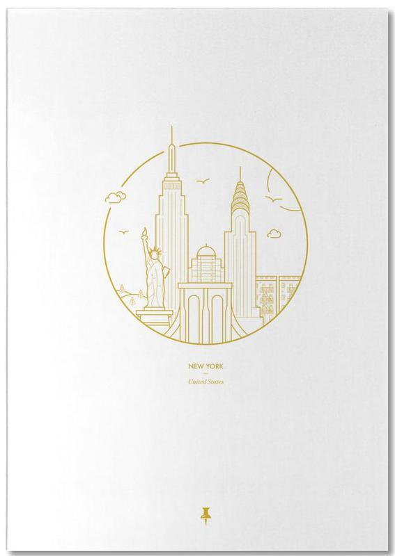 New York, New York bloc-notes