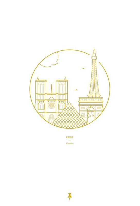 Paris acrylglas print