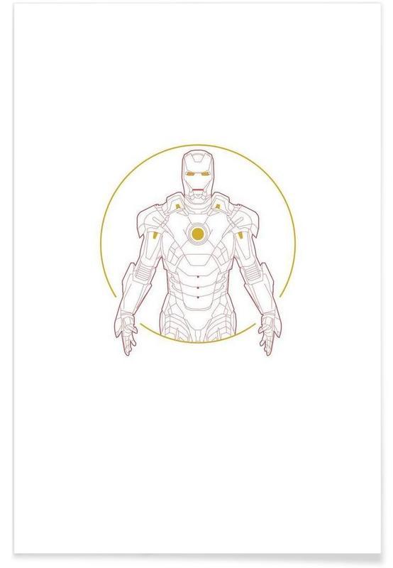 Iron Man, Iron Man poster