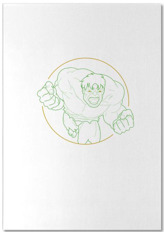 , Hulk -Notizblock