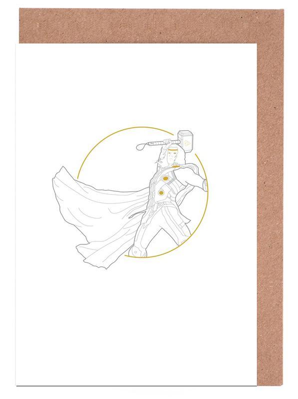 Thor Greeting Card Set