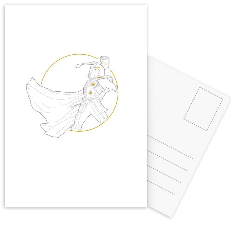 Thor, Thor Postcard Set