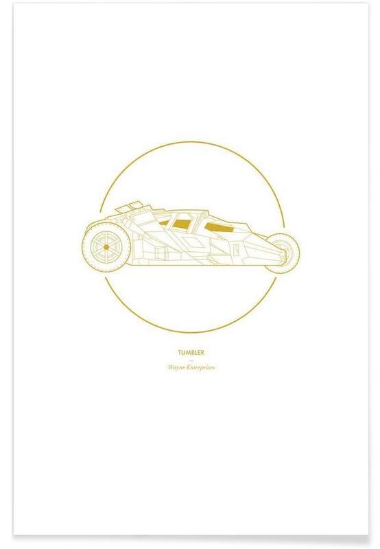 Movies, Cars, Tumbler Minimalist Poster