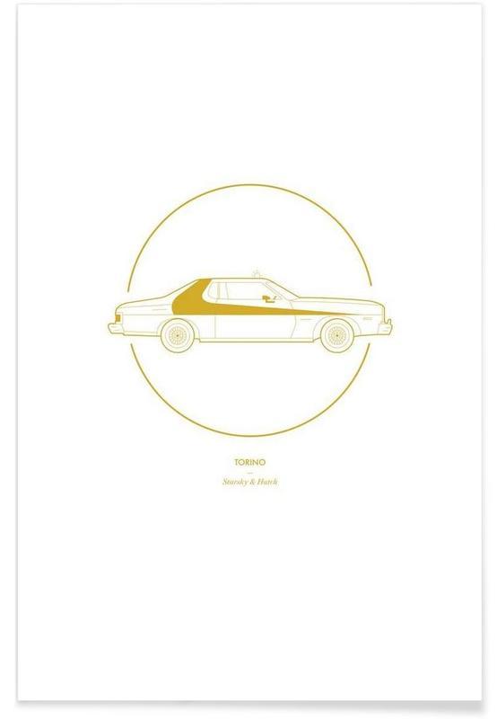 Torino – minimalistisch -Poster