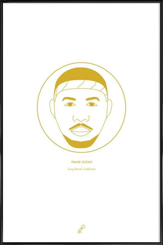 Frank Ocean Framed Poster