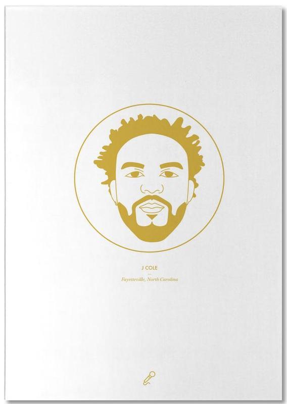 Hip Hop & Rap, J Cole Notepad