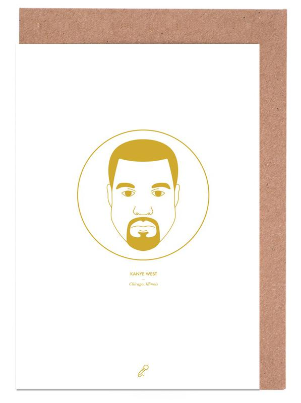 Kanye West Greeting Card Set