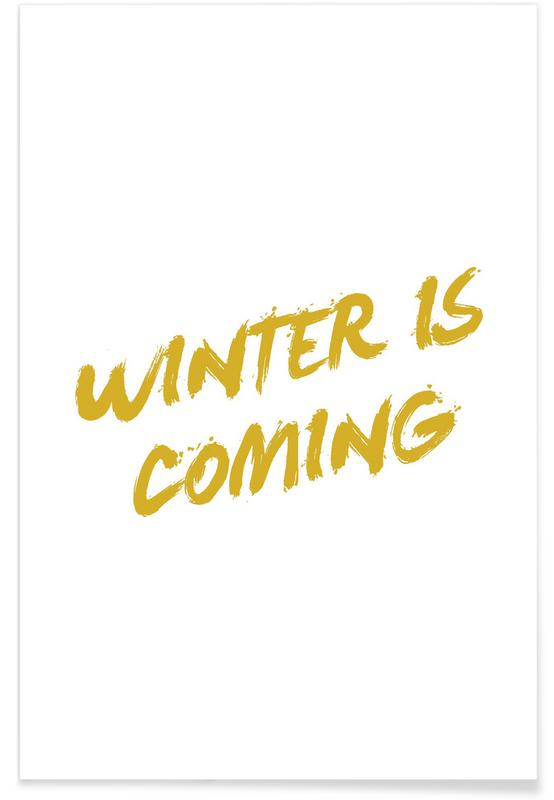 Winter is Coming Minimalist Poster