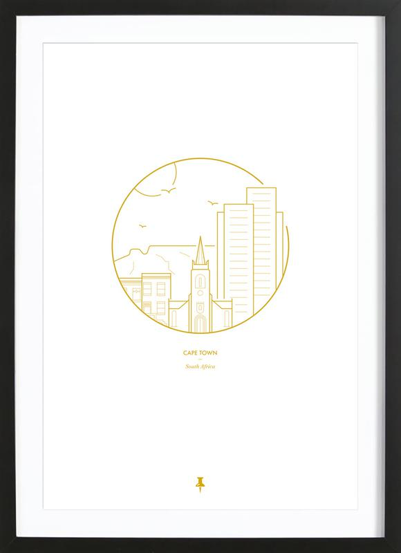 Cape Town Framed Print