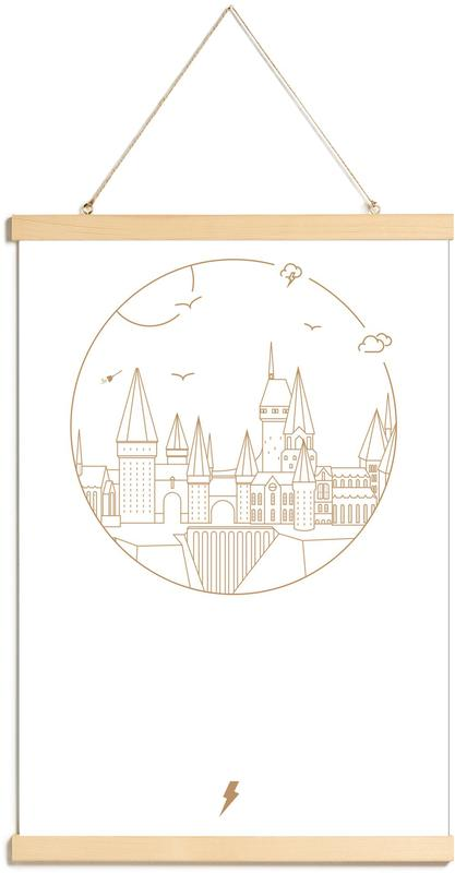 , Witchcraft and Wizardry Poster Hanger