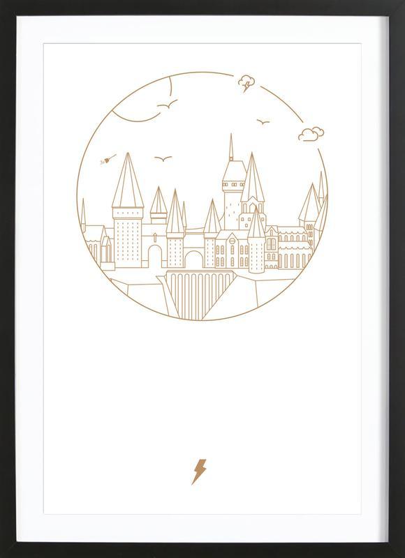Witchcraft and Wizardry ingelijste print