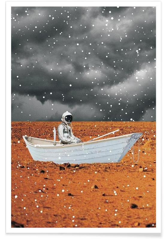 Astronauts, Abandon Ship Poster