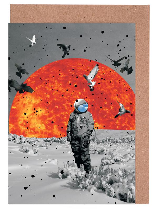 The Final Frontier Greeting Card Set