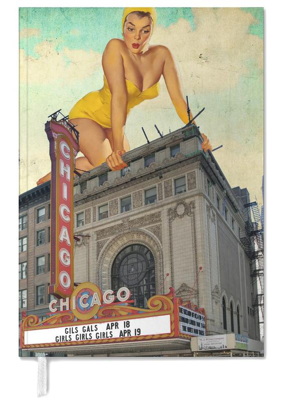 Retro, Chicago Pinup -Terminplaner