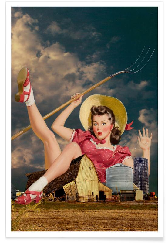 Farmer's Daughter Poster